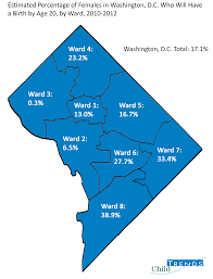 Washington Dc Ward Map by Using Data Can Put A Laser Like Focus On Efforts To Reduce Teen
