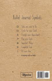 bullet journal 2017 journal notebook dot grid journal 122 pages