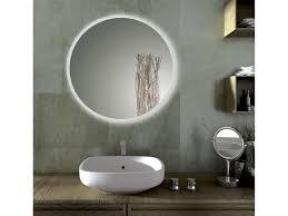 Square Bathroom Mirror Bathrooms Design Illuminated Bathroom Mirrors Round Vanity