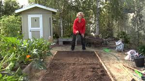 how to hand plant corn urban garden youtube