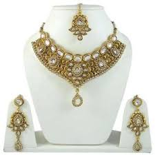 indian bridal necklace images Indian bridal jewelry ebay JPG