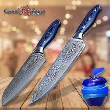 japanese folded steel kitchen knives damascus kitchen knives ebay
