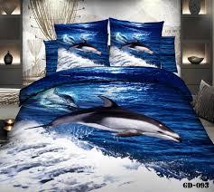 aliexpress com buy luxury 100 cotton 3 6 pcs ocean bedding sets