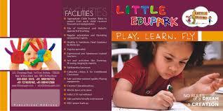 play school brochure templates brochure design in noida delhi india corporate brochure best