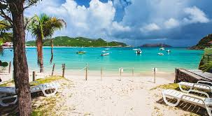 St Barts On Map by Villa Cap Plage St Jean Beach St Barts By Premium Island Vacations