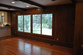what color to paint wood paneling in family room