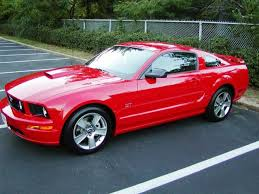 2007 ford mustang my mid crisis sports car different color though but you