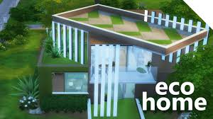 eco house the sims 4 build eco house youtube