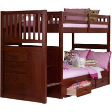 Twin Over Twin Bunk Beds With Trundle by Dustin Staircase Bunk Bed Wayfair