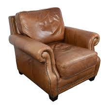 Leather Chair 85 Off Safavieh Couture Safavieh Couture Brayton Leather Chair