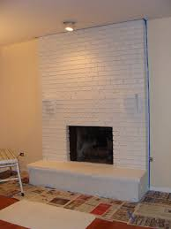cool white fireplace paint home design ideas best at white