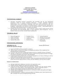 Admin Jobs Resume Format by Administrator Resume Summary Virtren Com