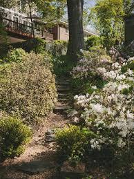 tour a private atlanta woodland garden hgtv