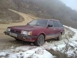 1992 subaru loyale sedan subaru 1600 1989 1 6 литра я купил эту машину в 1997 году в в