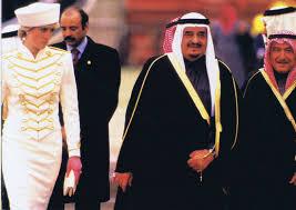 Prince Charles Princess Diana 24 March 1987 Prince Charles And Princess Diana Welcome King Fahd