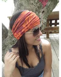 wide headbands big deal on orange headband running headband fitness