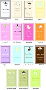 personalized seed packets baby shower favor personalized seed packets