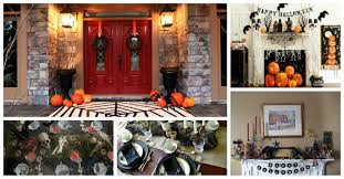 homes decorated for halloween best halloween home decorations spooktacular halloween
