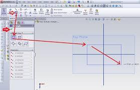 solidworks design simple tutorial begin to sketch solidworks for