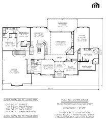 2201 2800sq feet 3 bedroom house plans 1 car garage 2735 0408 s