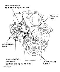 1992 honda accord serpentine belt routing and timing belt diagrams