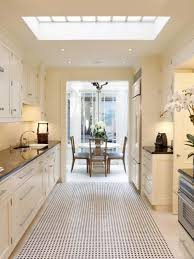 bathroom skylight in kitchen incredibly airy kitchen designs