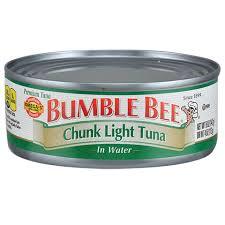 bumble bee chunk light tuna bulk bumble bee chunk light tuna in water 5 oz cans at dollartree com