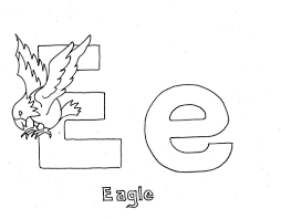 eagle alphabet coloring pages free alphabet coloring pages of
