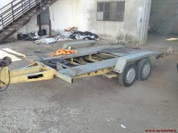 carrello porta auto usato scaduto vendo carrello rimorchio porta auto doppio asse ellebi