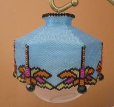 19 best beaded ornament covers by cathy likes to craft images on