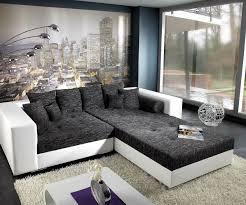 Wohnzimmer Design Schwarz Designer Couch U2013 Modernes Sofa Fürs Wohnzimmer Aus Leder In Weiß