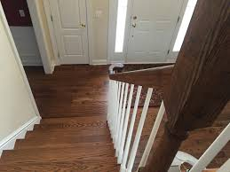 Stairs With Laminate Flooring The Foyer Before And After And Deciding On Paint Color