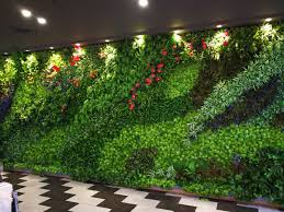 garden wall plants artificial hedges gallery