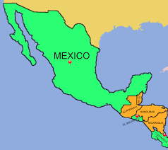 map of mexico and america mexico free map blank outline base and mexican artcommission me