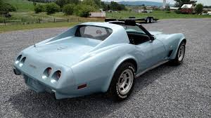 77 corvette l82 1977 corvette coupe for sale pennsylvania 1977 light blue