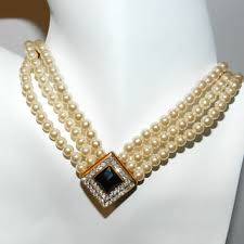 80s jewelry and accessories shop faux pearl necklace costume jewelry on wanelo