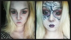 Dead Halloween Makeup by Dead Asylum Doll Halloween Makeup Tutorial Youtube
