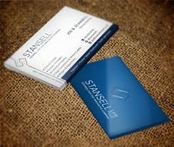 Business Cards 2 Sided 91 Modern Elegant Law Firm Business Card Designs For A Law Firm