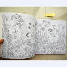 Livre De Coloriage Fantasy Dream Coloring Book24 Pencil Libro Carnet