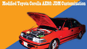 modified toyota corolla 1990 modified toyota corolla ae92 silvertop engine all jdm specs