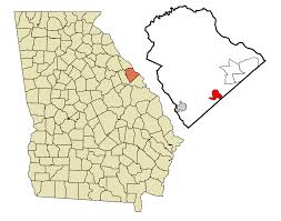 Georgia Zip Codes Map by Grovetown Georgia Wikipedia