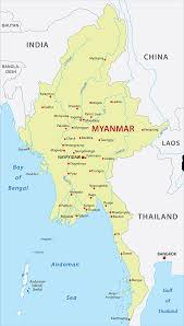 India Physical Map by Myanmar Map Download Physical Outline Political Blank Myanmar Maps