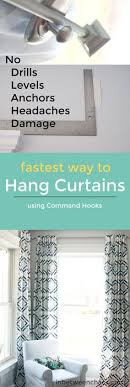 Easy Way To Hang Curtains Decorating The Do S And Don Ts Of Hanging Curtains Hang Curtains Apartment