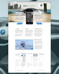 cool app websites bmw app concept cool app landing page design pinterest bmw