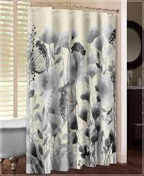 Black Floral Curtains Black And White Floral Curtains Express Air Modern Home Design