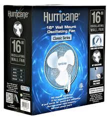 Wall Mount Bedroom Fans Amazon Com Hurricane Classic Box Floor Fan 20 Inch 736501
