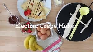 cuisine crepe cuisine cm20 eco crepe maker ptfe and pfoa free