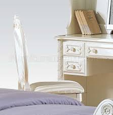 White Sleigh Bed Pearl Kids Bedroom In White By Acme W Sleigh Bed U0026 Options