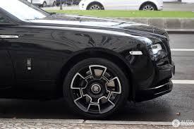 roll royce wraith black rolls royce wraith black badge 18 kovo 2017 autogespot