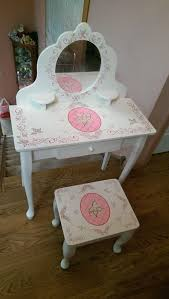 kidkraft princess table stool kidkraft princess diva make up vanity table stool mirror pink girls